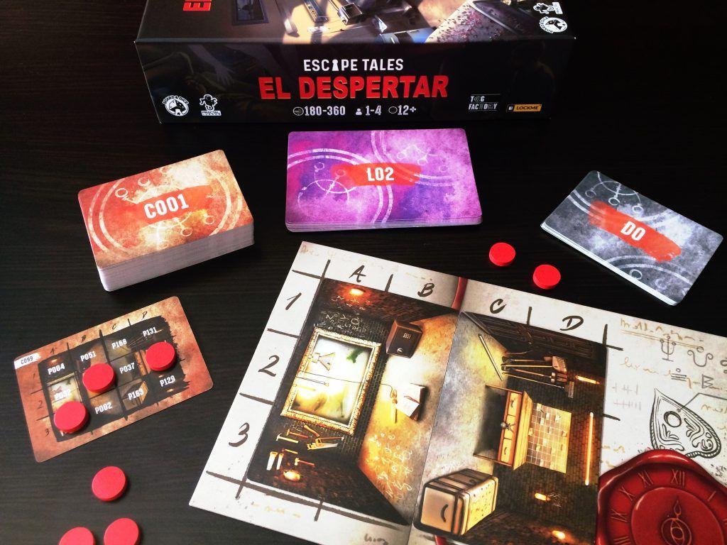 Despliegue Juego de Mesa Escape Tales El Despertar Otra Partida 1.0
