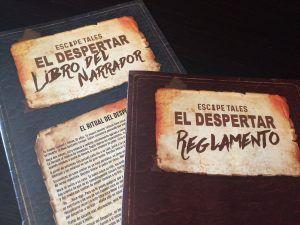 Manuales Juego de Mesa Escape Tales El Despertar Otra Partida 1.0