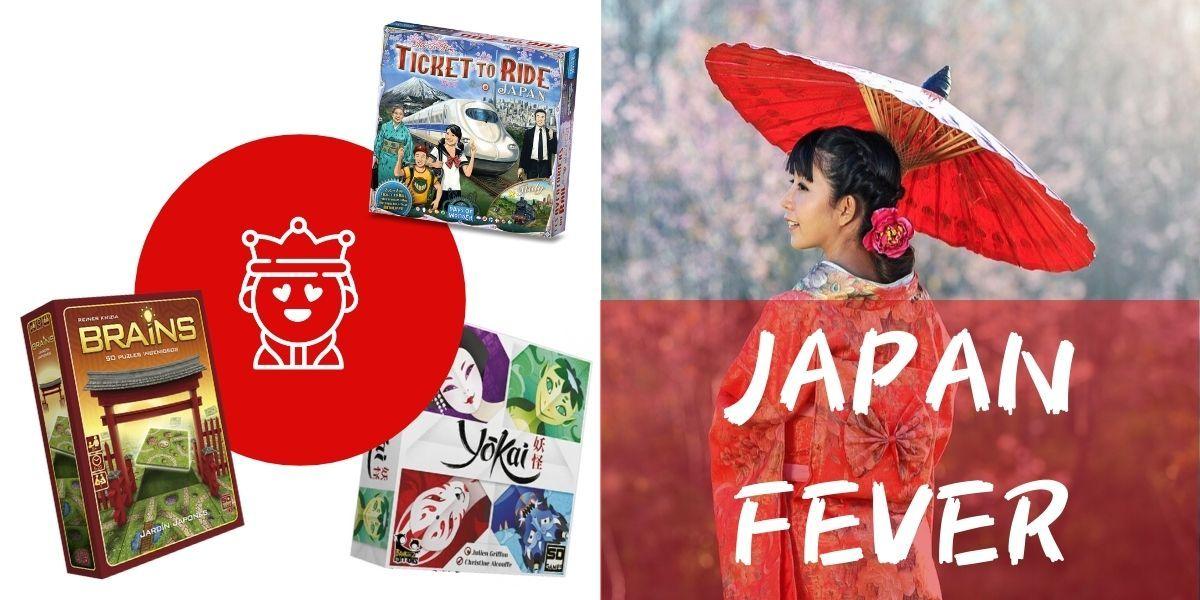 JAPAN FEVER JUEGOS DE MESA JAPON OTRA PARTIDA 1.0