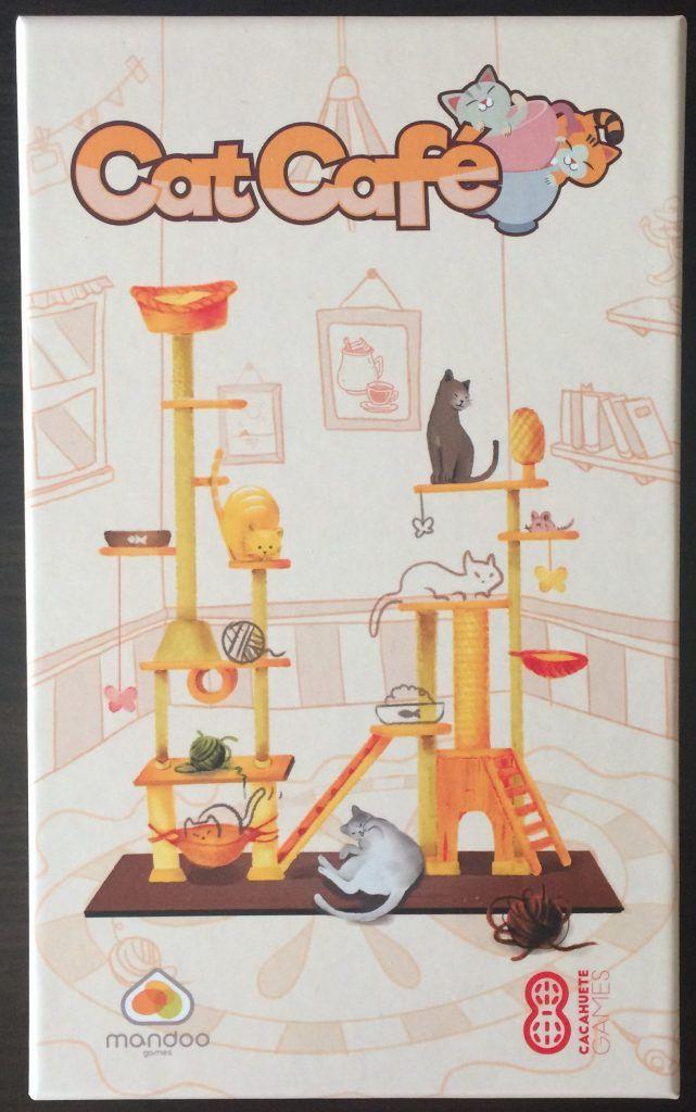 Caja Juego de Mesa Cat Café Otra Partida 1.0