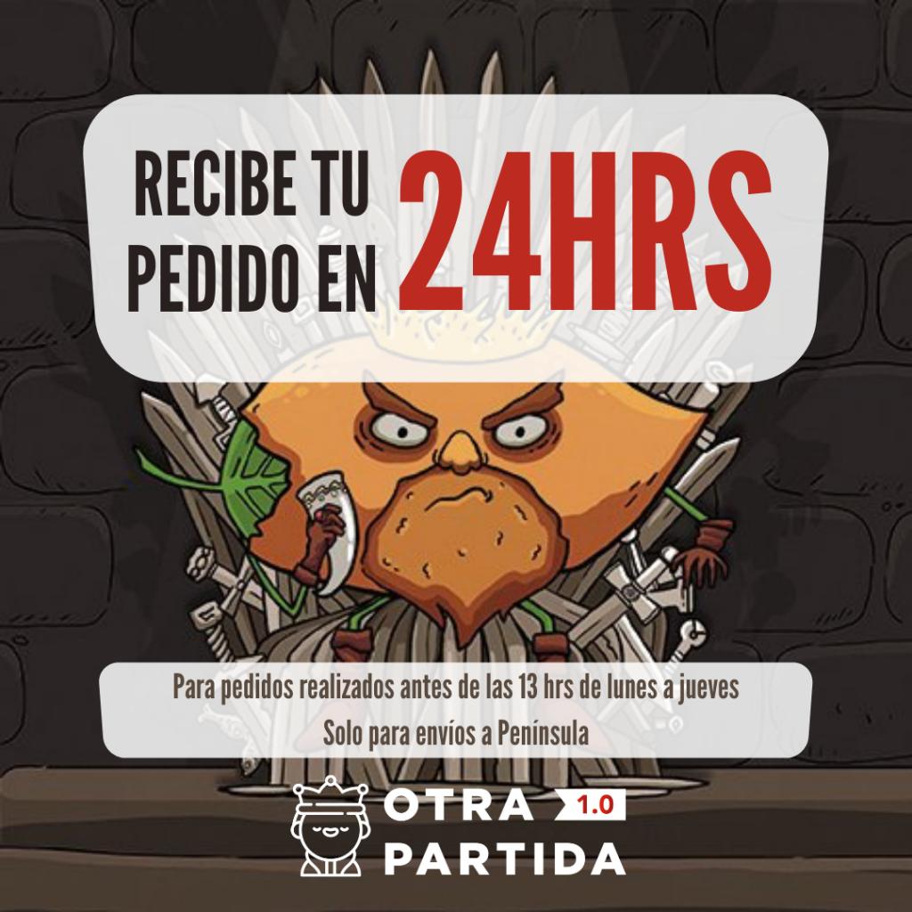 RECIBE TU PEDIDO EN 24HRS OTRA PARTIDA 1.0
